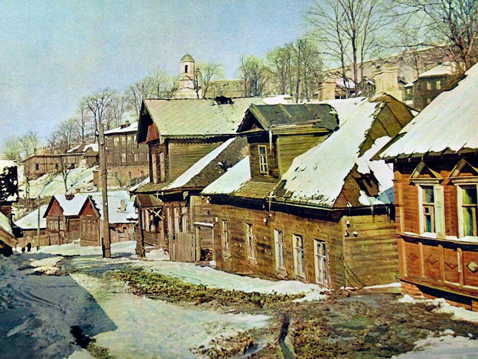 1942. Улица Зеленый Ручей