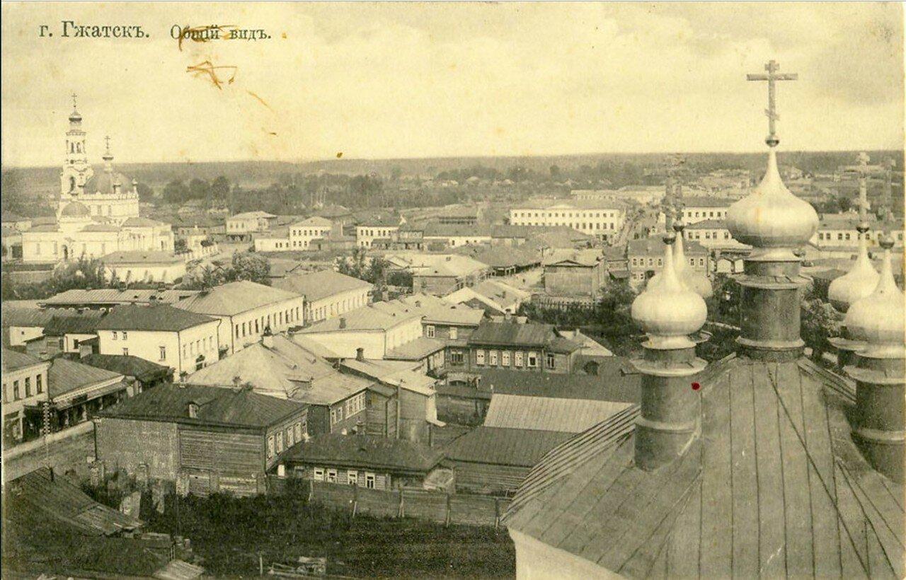 Вид с колокольни церкви Казанской иконы Божией Матери