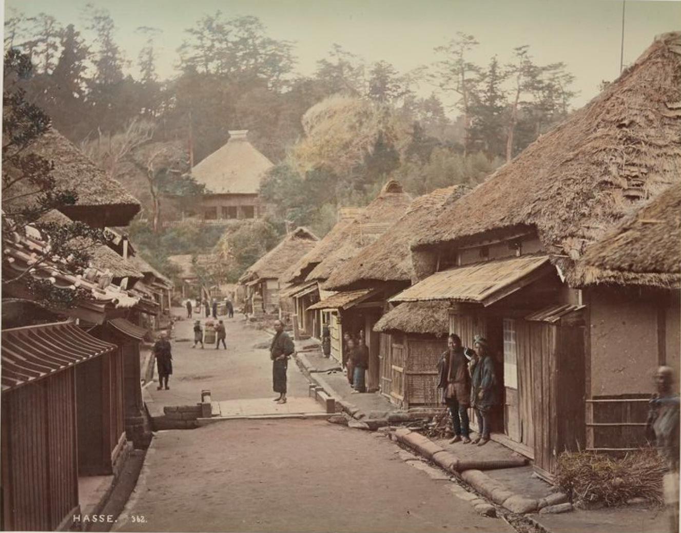 Камакура. Хассе, подъездная дорога к храму