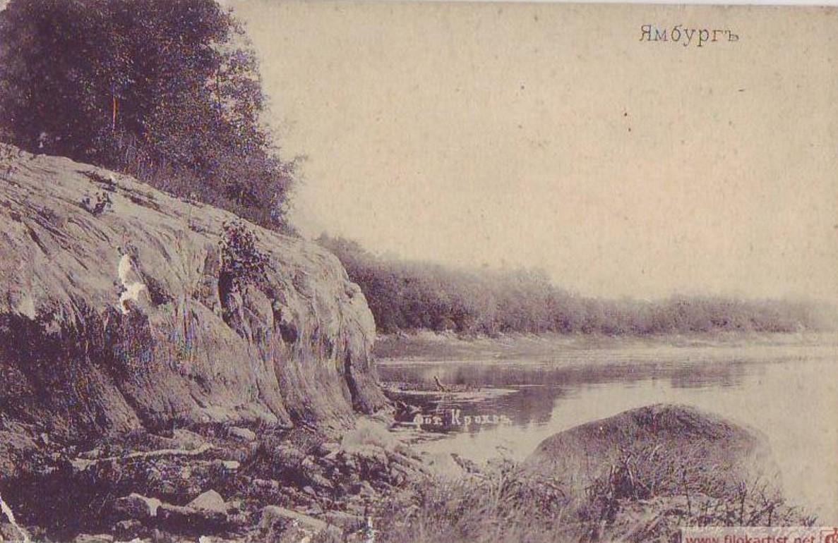 Берег реки Луги
