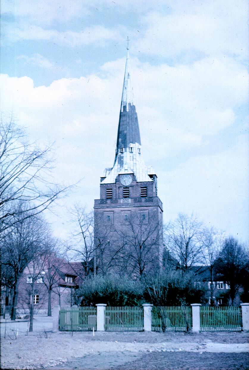 Берлин. Церковь Евангелия