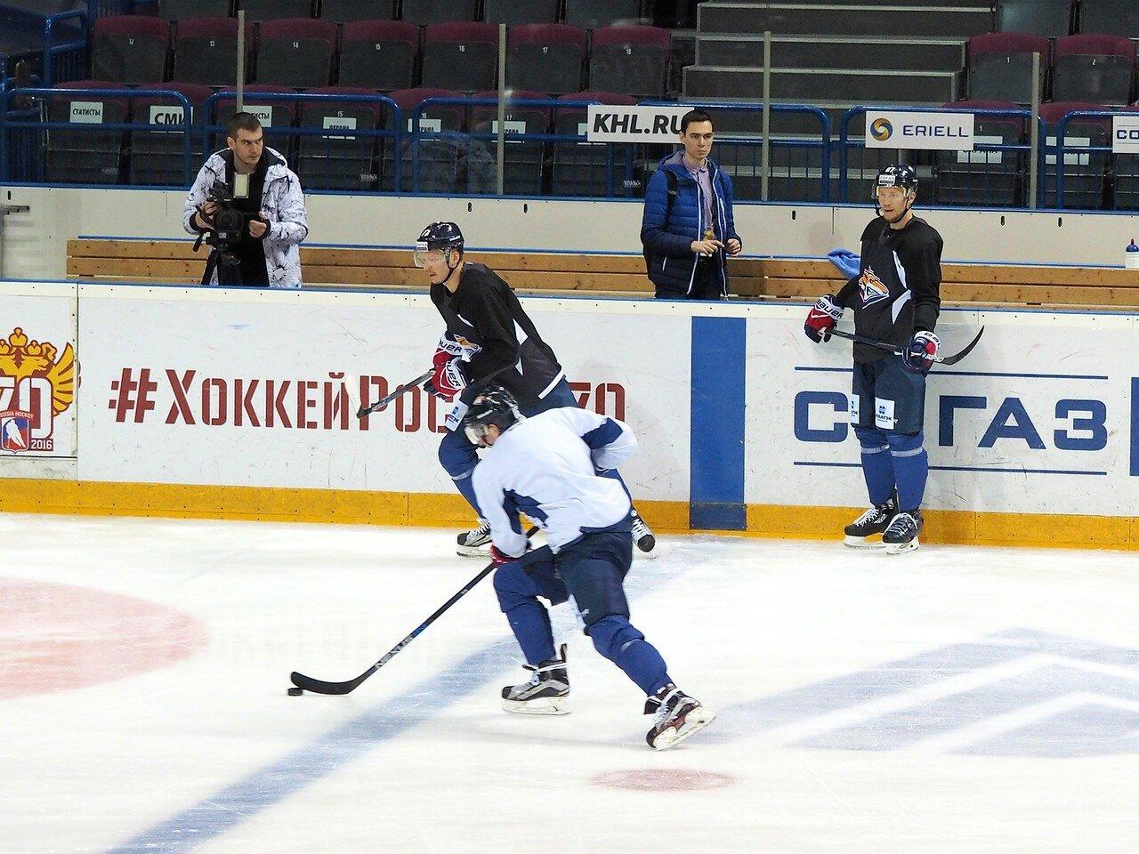 13 Открытая тренировка перед финалом плей-офф восточной конференции КХЛ 2017 22.03.2017