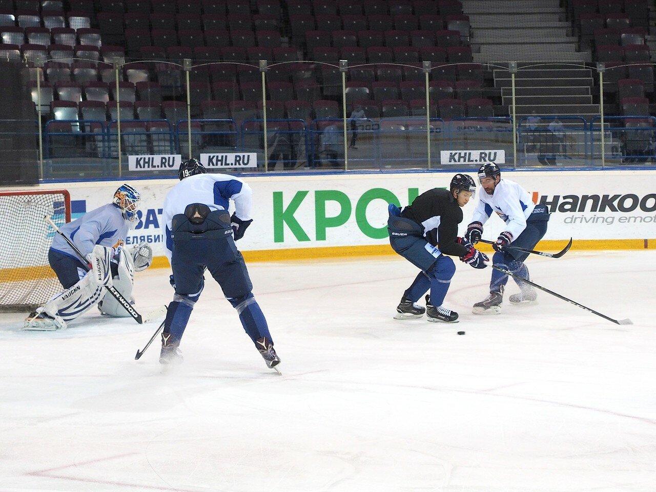 32 Открытая тренировка перед финалом плей-офф восточной конференции КХЛ 2017 22.03.2017