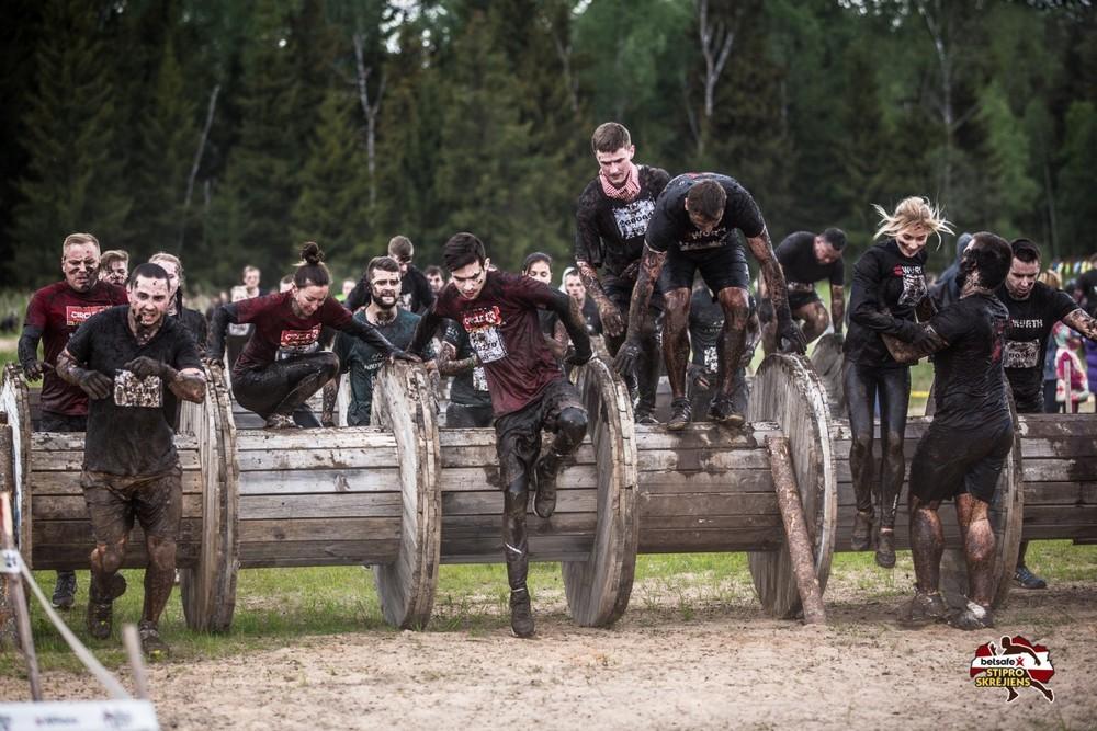 «Забег сильных» в Латвии