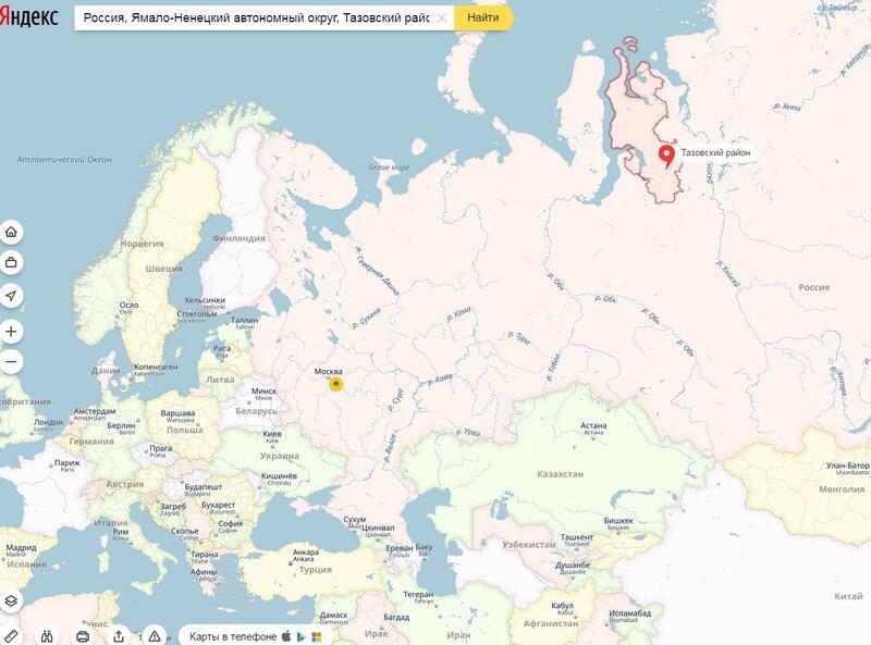 Тазовский район на карте мира.jpg