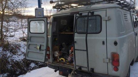 Профессионалов  «Ленэнерго» обстреляли изружья впроцессе  работ впосёлке Вартемяги