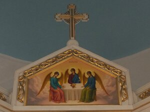 Иконостас. Святая Троица.