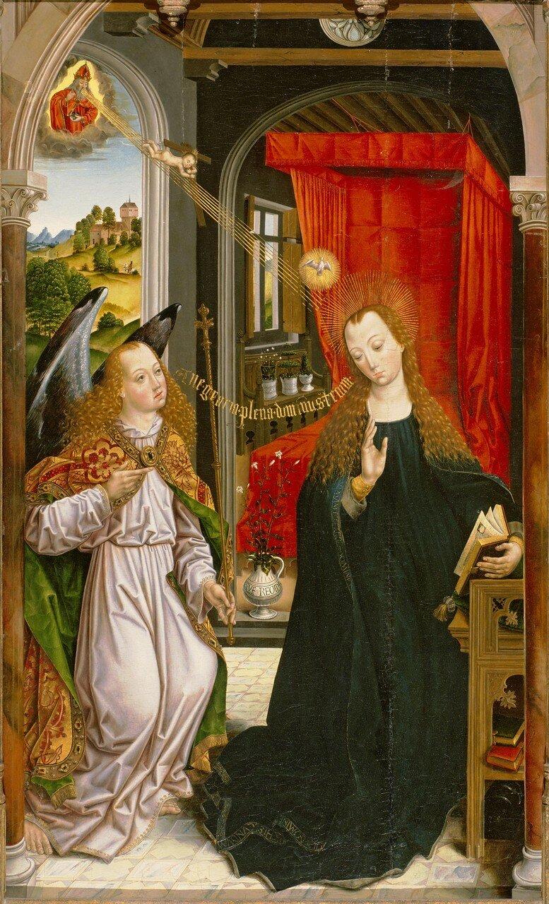 Благовещение (1475-1500) (Сан-Франциско, Музей искусств).jpg