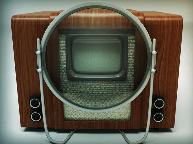 Телевизор в прошлом.