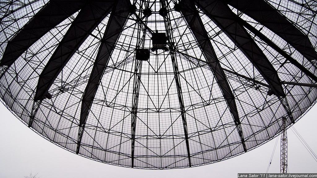 Ну да и не нужно это было особо - чего мы там не видели, в тарелке телескопа? :) На этом мы осмотр т