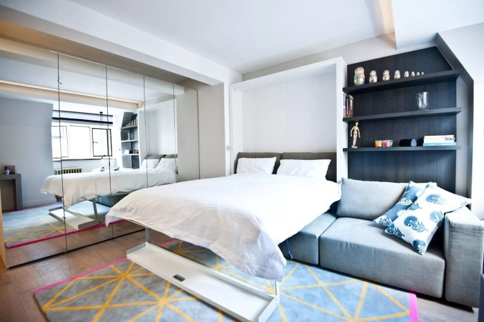 Спальня с гостиной зоной. Новое прочтение гостиной зоны в спальне делает интерьер эксклюзивным. Обст
