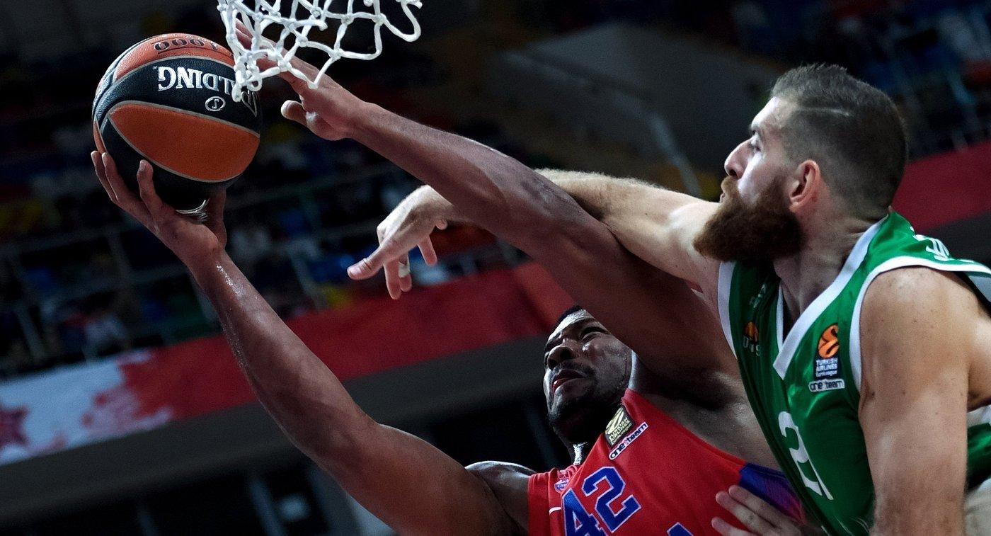 ЦСКА обыграл УНИКС в русском дерби баскетбольной Евролиги