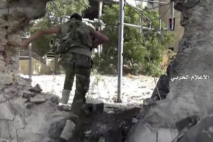Боевики обстреляли армию Сирии вАлеппо снарядами сотравляющим газом
