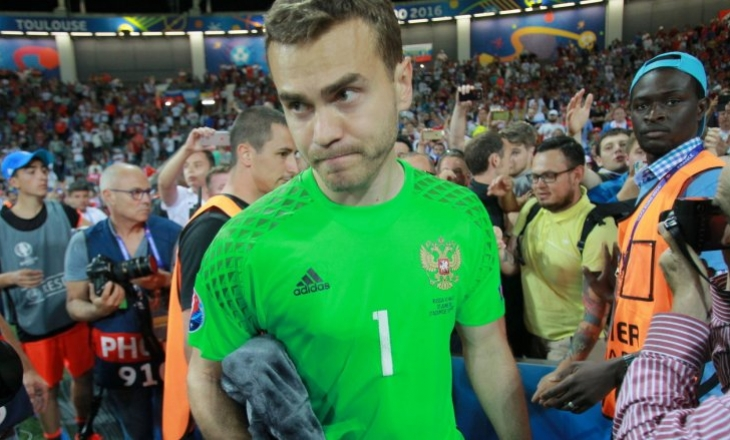 Акинфеев установил рекорд сборной поколичеству сухих матчей