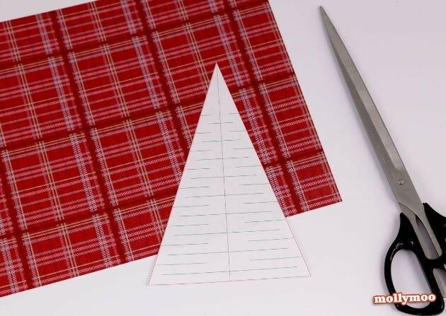 Новогодние бумажные гирлянды