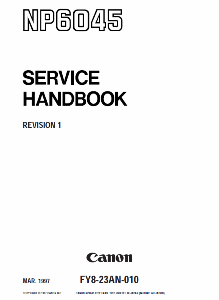Инструкции (Service Manual, UM, PC) фирмы Canon - Страница 3 0_1b1404_4706eccd_orig