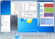 Windows 7 Enterprise SP1 7601.23564 RollUP4 2017 x86-x64 RU PIP