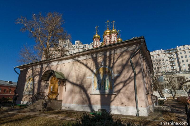 Трапезная Никольской церкви, церковь Николы на Берсеневке