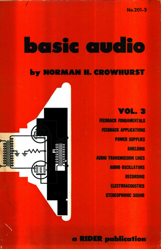 Basic Audio: Volume 3 - Norman Crowhurst - Book Cover