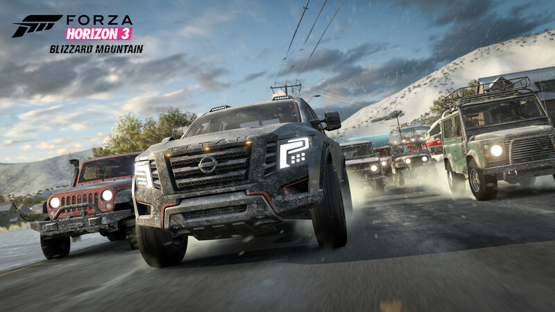 Трейлер и новые скриншоты Forza Horizon 3 Blizzard Mountain
