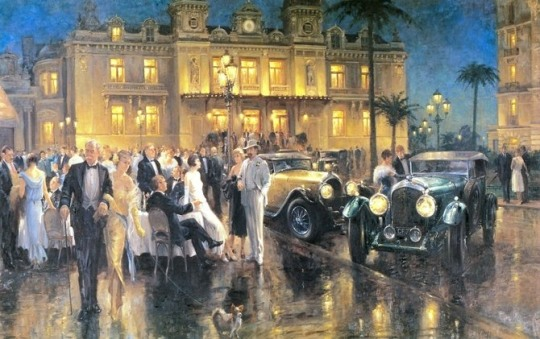 Classic Car Paintings by Alan Fearnley
