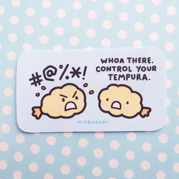Miso Happy - Adorables jeux de mots et cuisine japonaise !