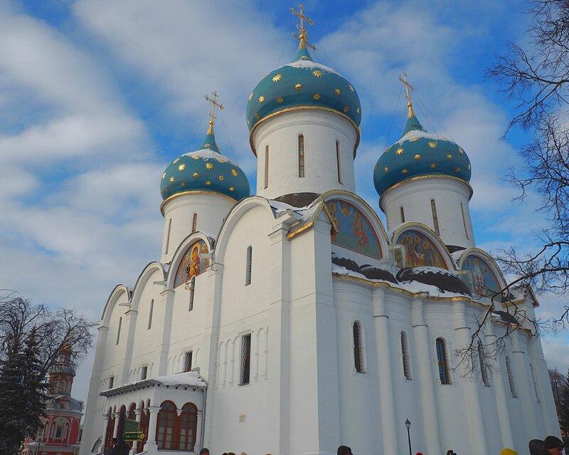 Троице-Сергиева Лавра - Успенский собор (The Trinity Lavra of St. Sergius - Assumption Cathedral)