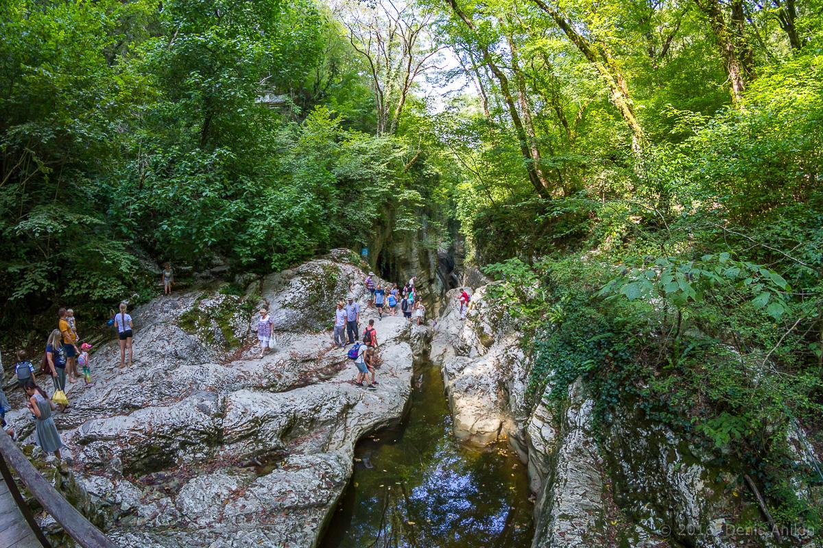 Агурское ущелье, водопады фото 11