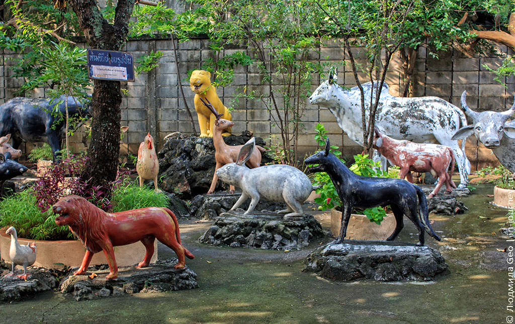 музей ада и рая в таиланде
