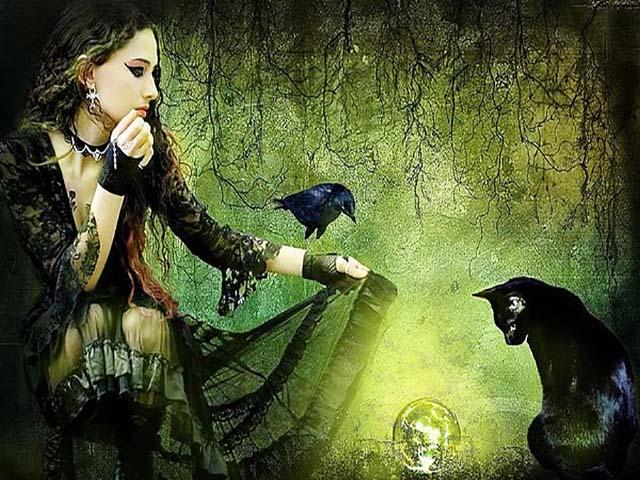 Улыбка ведьмы
