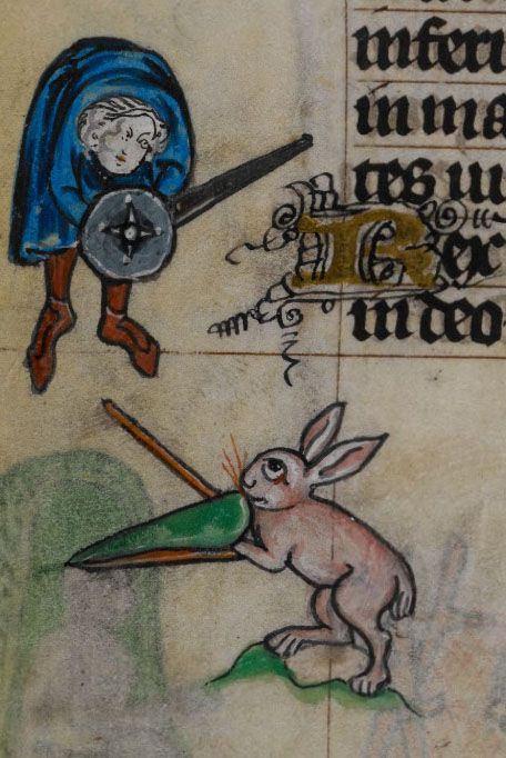 Маастрихтский Часослов. Первая четверть XIV века. Нидерланды, Льеж ..jpg
