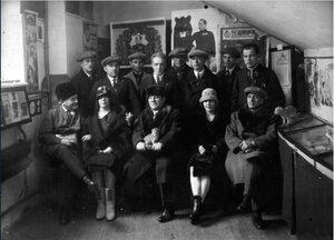 1924. Артисты цирка