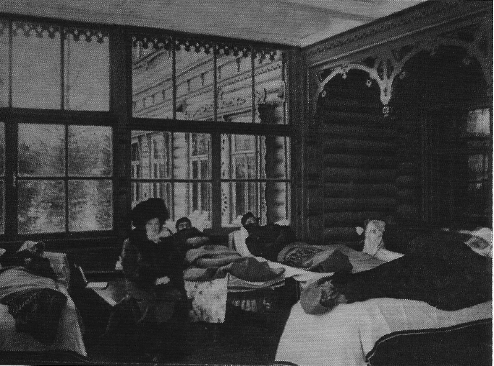 Пациенты санатория