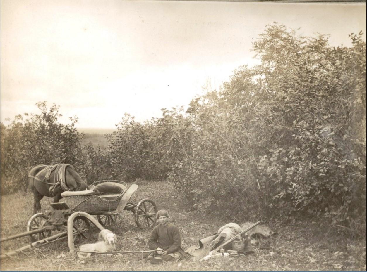 На охоте под Муромом. Сер. 1890-х