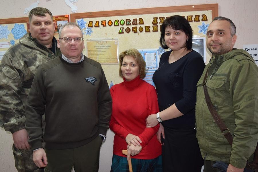 Московские гости в Алчевской лечебнице