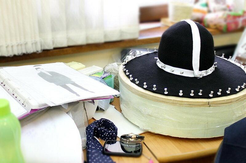 Шляпка кибитка