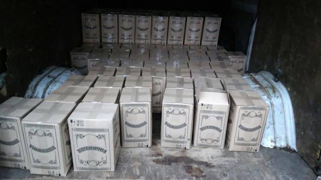 Налоговики на Ривненщине задержали незаконную партию алкоголя. ФОТОрепортаж