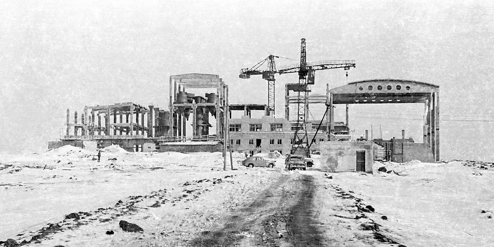 История промышленности России в фотографиях: Берендеевский торфобрикетный завод