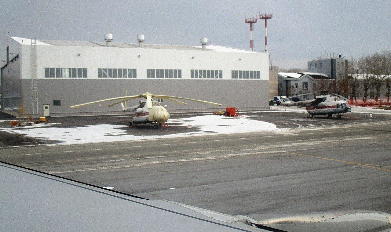 Аэропорт Кольцово. Вертолётная площадка