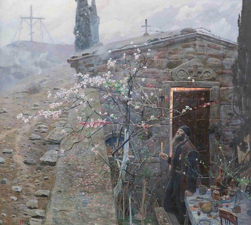 Рыженко Павел Викторович (Россия, 1970) «Пасха»