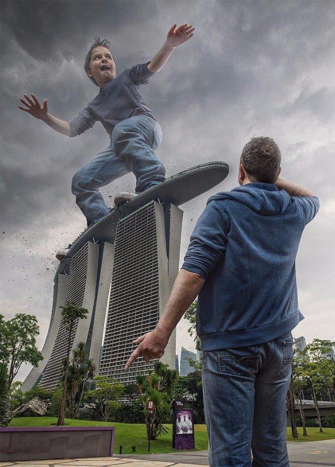 Когда твой папа (Adrian Sommeling) — бог фотошопа