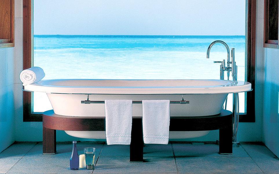8. Еще одна ванна на Мальдивах. Для обретения гармонии с миром.