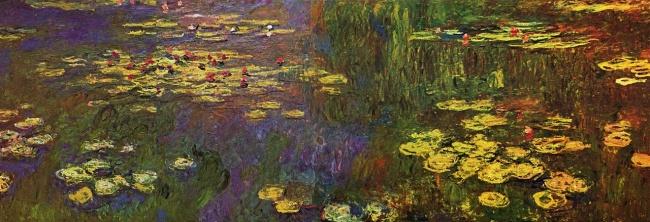 © interagir.com  «Водяные лилии», 1920–1926 Впоследние годы жизни уМоне были проблемы созре