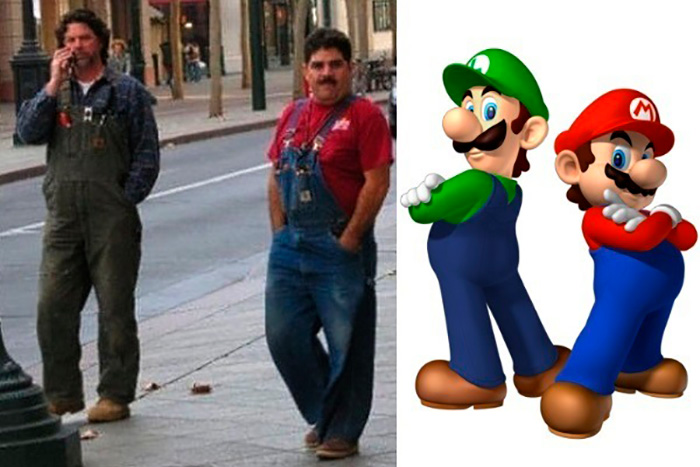 Братья Марио.