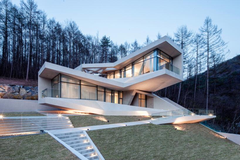 Проект дома отдыха в Корее