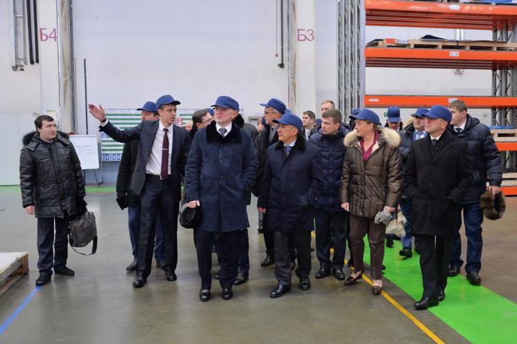Рустам Минниханов дал старт началу возведения сервисного металлоцентра «Алабуга»