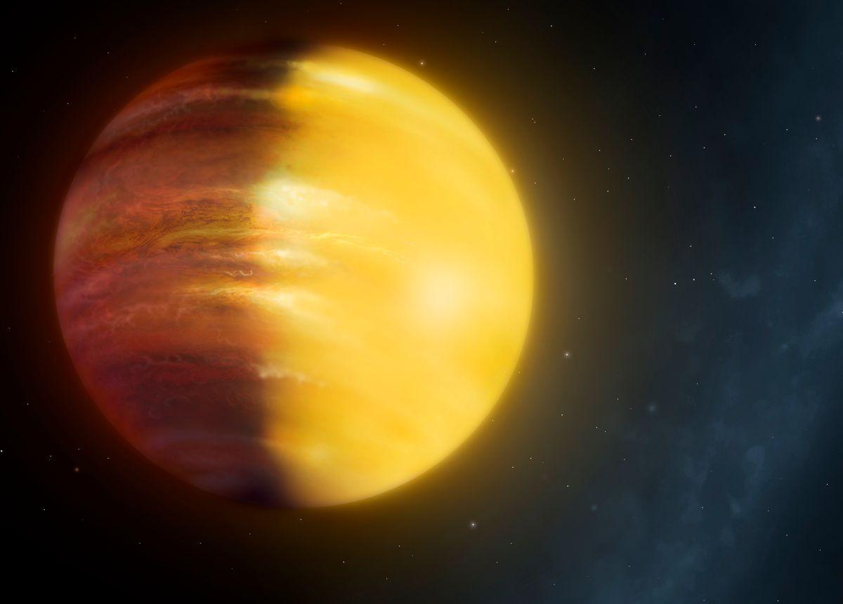 Астрономы узнали, где идут дожди изсапфиров ирубинов