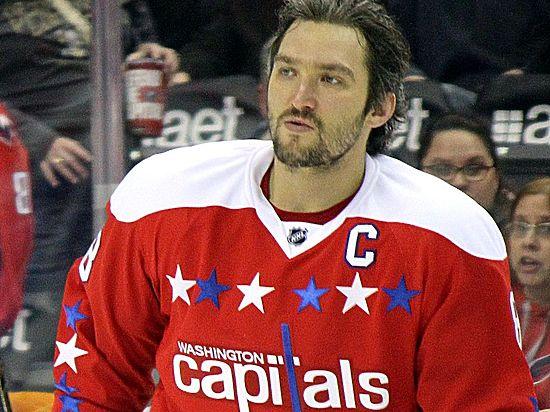 НХЛ: Овечкин стал первой звездой игрового дня