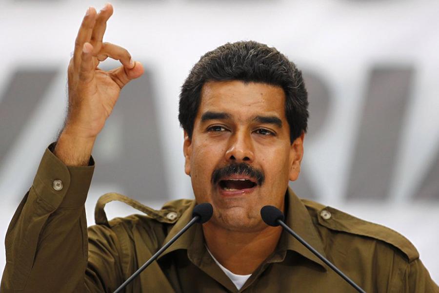 Президент Венесуэлы Николас Мадуро: никогда «неотказался отдолжности»