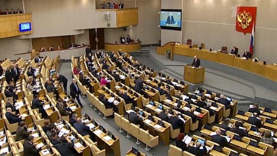 Депутаты одобрили перенос президентских выборов вРоссии